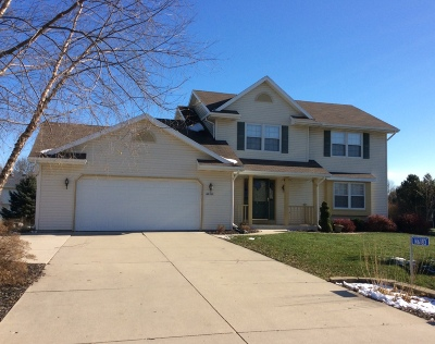 Sheboygan Single Family Home For Sale: N6183 Woodland Meadows Dr