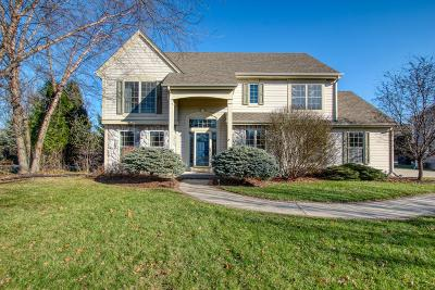 Single Family Home Active Contingent With Offer: N25w26444 Bucks Island Ct