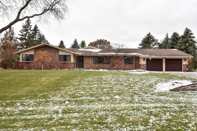 Racine Single Family Home Active Contingent With Offer: 3530 Leo Ln