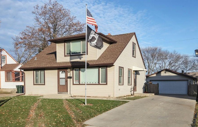 West Allis Single Family Home Active Contingent With Offer: 1324 S 95th St