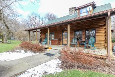 Jefferson Single Family Home Active Contingent With Offer: N3560 County Road D