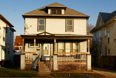 Racine Single Family Home For Sale: 1605 Holmes Ave