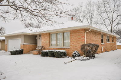 West Allis Single Family Home Active Contingent With Offer: 2833 S 72nd St