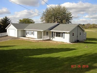 West Bend Single Family Home For Sale: 3898 Beaver Dam Rd
