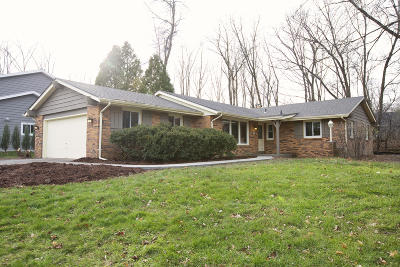 Menomonee Falls Single Family Home For Sale: N82w16023 Valley View Dr