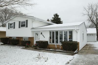 South Milwaukee Single Family Home Active Contingent With Offer: 3609 5th Ave