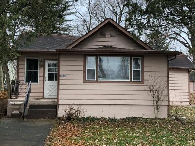 Genoa City Single Family Home Active Contingent With Offer: N1233 W Lake Shore Dr