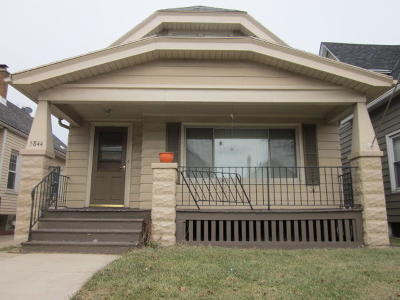 West Allis Single Family Home Active Contingent With Offer: 5844 W Scott St