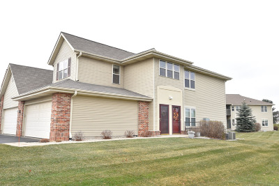 Slinger, Town Of Polk Condo/Townhouse Active Contingent With Offer: 1022 E Woodview Ct #4