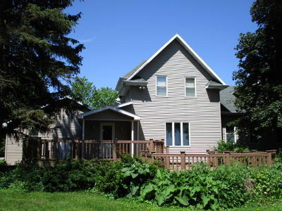 Delavan Single Family Home For Sale: N6309 County Road P
