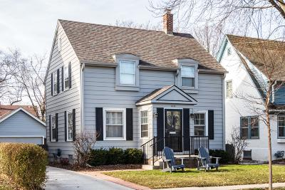 Whitefish Bay Single Family Home Active Contingent With Offer: 5935 N Shoreland Ave