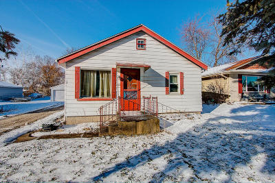 Single Family Home Active Contingent With Offer: 5963 S 32nd St