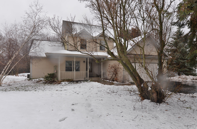 Racine County Single Family Home Active Contingent With Offer: 2719 Fancher Rd