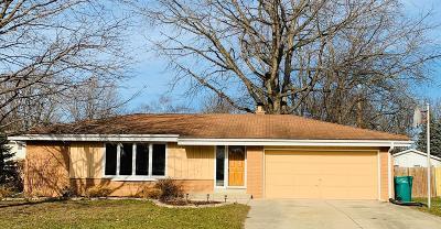 Single Family Home For Sale: N114w15180 Vicksburg Ave