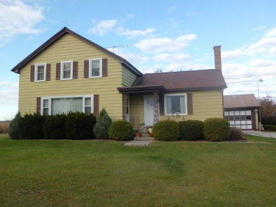 Sheboygan Single Family Home Active Contingent With Offer: N9047 Lakeshore Rd