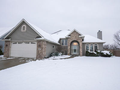 Racine County Single Family Home Active Contingent With Offer: 727 Hunter Dr