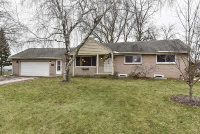Milwaukee County Single Family Home Active Contingent With Offer: 1335 W Daniel Ln