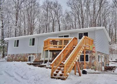 Marinette County Single Family Home For Sale: W7294 Crain Ln