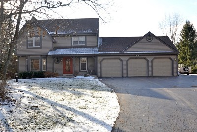Lisbon Single Family Home Active Contingent With Offer: N71w27131 Meadow Wood Ln