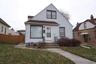 West Allis Single Family Home Active Contingent With Offer: 2037 S 72nd St