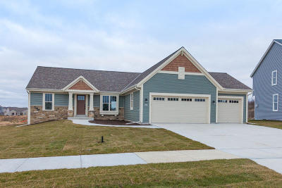 West Bend Single Family Home For Sale: 451 Edgewater Dr