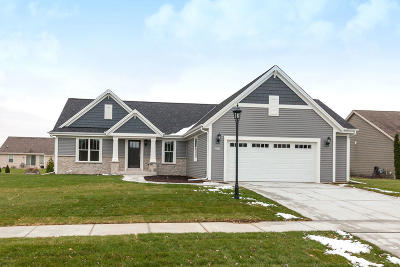East Troy Single Family Home Active Contingent With Offer: 2827 Lakeview Dr