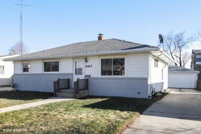 Racine Single Family Home For Sale: 2413 Jean Ave