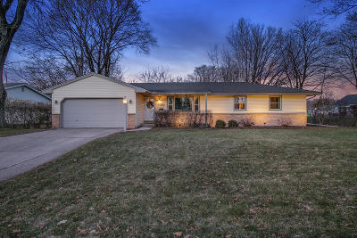 Menomonee Falls Single Family Home Active Contingent With Offer: N88w18216 Duke St