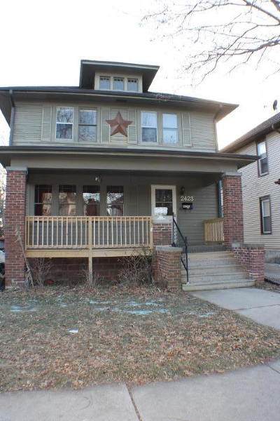 Racine County Single Family Home For Sale: 2423 Twentieth St