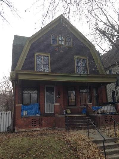 Milwaukee County Single Family Home For Sale: 1226 N 30th St