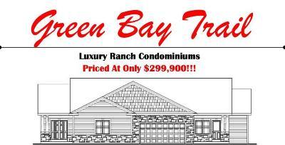 Pleasant Prairie Condo/Townhouse For Sale: Bldg 1 105th Ave #A