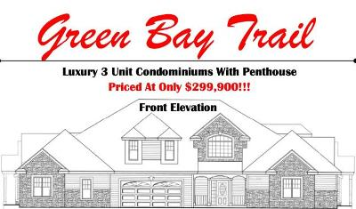 Pleasant Prairie Condo/Townhouse For Sale: Bldg 11 65th Ave #1
