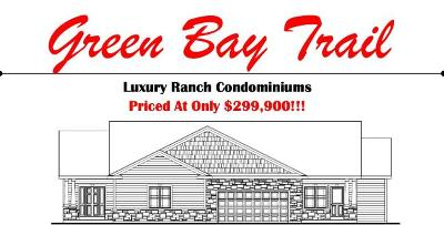 Pleasant Prairie Condo/Townhouse For Sale: Bldg 2 105th Ave #A