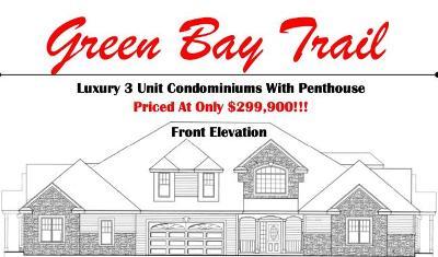 Pleasant Prairie Condo/Townhouse For Sale: Bldg 2 105th Ave #B
