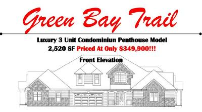 Pleasant Prairie WI Condo/Townhouse For Sale: $349,900