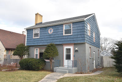 Milwaukee County Single Family Home For Sale: 3536 N 54th Blvd