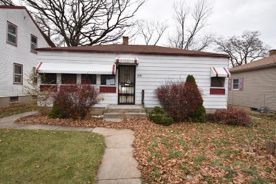 Milwaukee County Single Family Home For Sale: 4585 N 24th St