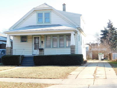 Milwaukee WI Two Family Home Active Contingent With Offer: $149,500