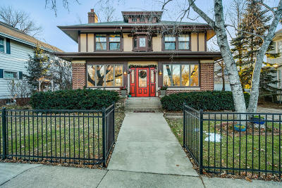 Racine Single Family Home Active Contingent With Offer: 2915 Washington Ave