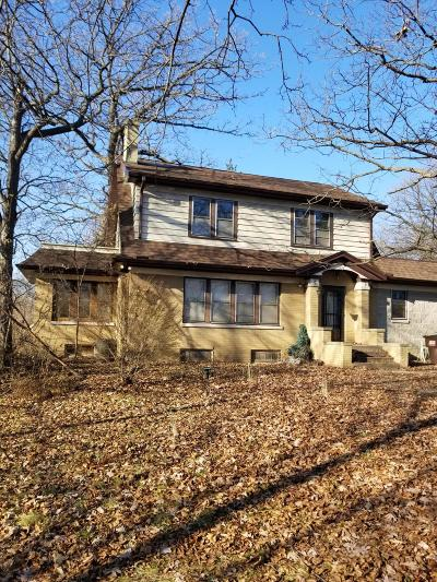 Racine Single Family Home Active Contingent With Offer: 3406 Highway 38