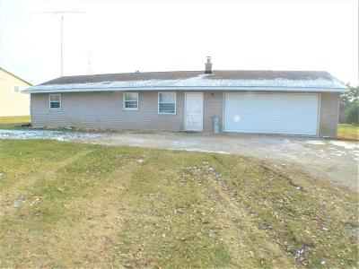 Whitewater Single Family Home For Sale: W8825 Territorial Rd