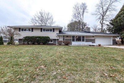 Milwaukee County Single Family Home For Sale: 2125 W Hemlock Rd