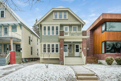 Milwaukee County Two Family Home For Sale: 1723 N 49th St #1725