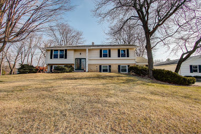 Single Family Home Active Contingent With Offer: W156n10356 Pilgrim Rd