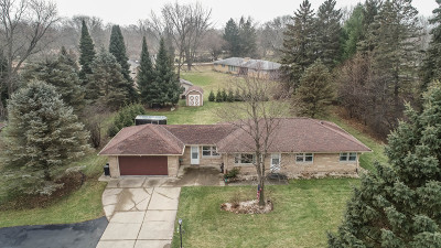 Waukesha County Single Family Home For Sale: 14265 W Lisbon Rd