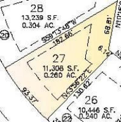 West Bend, Town Of West, Town Of Trenton Residential Lots & Land For Sale: Lot 27 Schloemer Dr