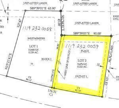 West Bend, Town Of West, Town Of Trenton Residential Lots & Land For Sale: Lot 2 Highland View Dr