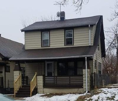 Milwaukee Single Family Home For Sale: 3419 N 11th St