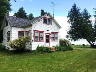 Menominee MI Single Family Home For Sale: $120,000