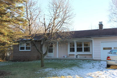 Plymouth Single Family Home Active Contingent With Offer: W7411 County Road U